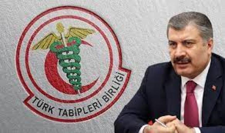 Türk Tabipleri Birliği (TTB),  eylem sürecini başlattı