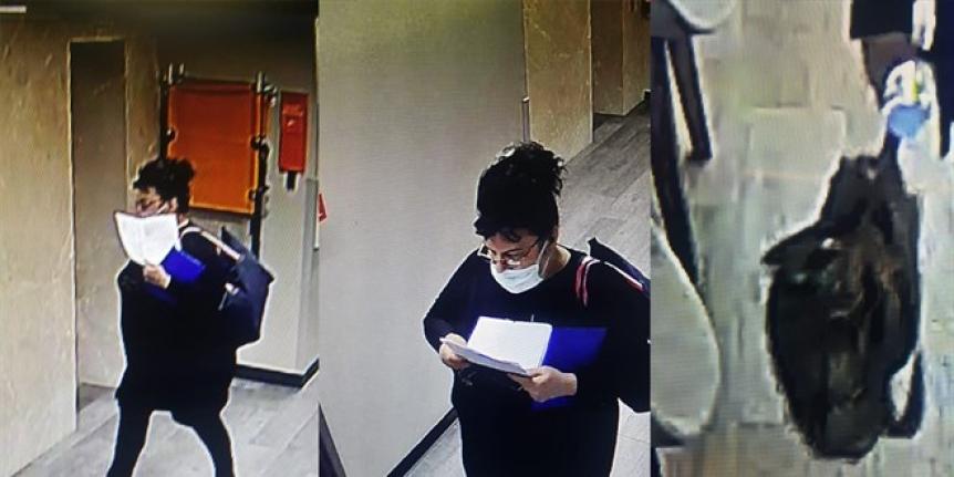 Yabancı uyruklu kadın hırsız, doktorun çantası çaldı