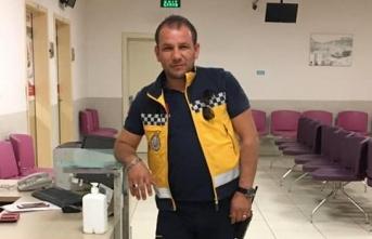 Ambulans şoförüne bıçak çeken hasta yakını, tutuklandı