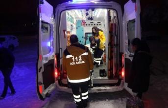 Gece başlayan hasta kurtarma operasyonu sabah son erdi
