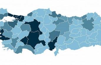 Türkiye koronavirüs haritası güncellendi!