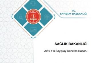 Sayıştay 2019 Sağlık Bakanlığı Raporunu Yayınladı