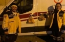 Elazığ'da ambulans kapısına meyve poşeti...