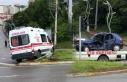 Zonguldak'ta Ambulans Kazası