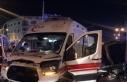 Yalova'da ambulans otomobil ile çarpıştı:...