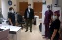 Virüs tedavisi tamamlanan Sağlık Müdürü görevine...