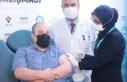 Bakan Varank, yerli aşının ikinci dozunu yaptırdı