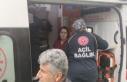 Ambulansla Otomobil Kafa Kafaya Çarpıştı