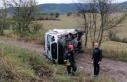 Ambulans ile otomobilin çarpıştığı kazada 5...