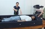 Sağlık Memuru Hasta Yıkama Yatağı Üretti/ Video