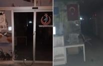 Mersin'de sağlık merkezine molotoflu saldırı!