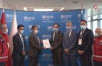 UMKE, Dünya Sağlık Örgütünden kabul belgesi aldı