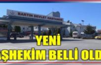 Devlet Hastanesinin yeni Başhekimi