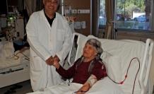 Hastanenin gülen yüzü emekli oluyor