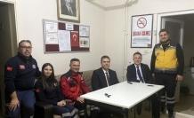 112 Acil Sağlık Hizmetleri İstasyonlarına Sürpriz Gece Ziyareti