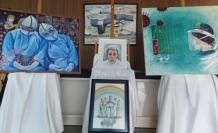 100 ressam sağlık çalışanları için çizdi / Foto