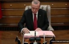 Cumhurbaşkanı Erdoğan, 9 Üniversiteye rektör atadı.