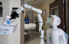 Hastanelerde görev yapan hemşire robot: Moxi