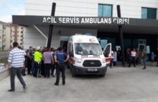 Boyabat Devlet Hastanesi Önünde Arbede