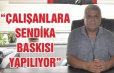 """Türk Sağlık-Sen Balıkesir Şube Başkanı :""""ÇALIŞANLARA SENDİKA BASKISI YAPILIYOR"""""""