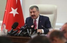 KOCA: Elazığ'a 8 Saatte 2 bin 625 sağlıkçı gitti