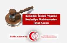Sendikal İzinde Yapılan Kesintiye Mahkemeden İptal Kararı