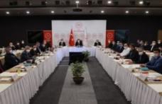 Bakan Koca, İstanbul'da sağlık yöneticileriyle bir araya geldi