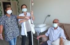 Doktor ozonu önce kendisine sonra hastalara uygulamaya başladı