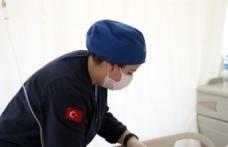 Sağlık çalışanları UMKE gönüllüsü olabilmek için zorlu eğitimlerden geçiyor