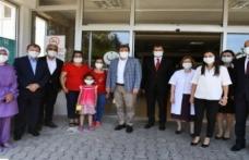 Vali Tavlı' dan sağlık çalışanlarına moral ziyareti