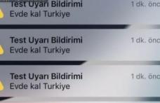 'Evde Kal Türkiye' bildirimi için ilk resmi açıklama