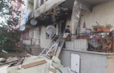 Sağlık çalışanları yangında kullanılamaz hale gelen evin tadilatını yaptırdı