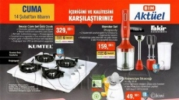 Yeni-ŞOK, A101 ve BİM fırsat ürünleri (11-14)