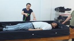 Hasta yıkama yatağı yaptı, 500 bin yatalak hastaya ulaşacak