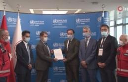 UMKE, Dünya Sağlık Örgütünden kabul belgesi...