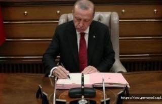 Cumhurbaşkanı Erdoğan, 9 Üniversiteye rektör...