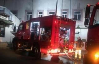 Hastanenin Acil Binasının Bulunduğu Alanda Yangın