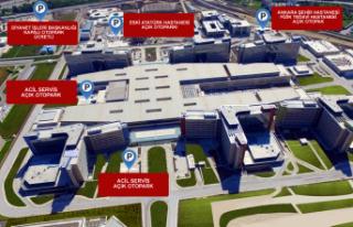 Ankara Şehir Hastanesinden Otopark Açıklaması