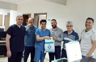 Nevşehir Sağlık-Sen Bayramda sağlık Çalışanlarını...