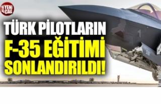 Türk pilotların ABD'deki F-35 eğitimleri durduruldu
