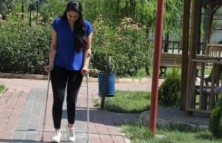 Genç Hemşirenin yürümesi için 120 bin liraya...