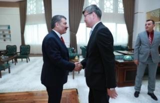 Sağlık Bakanı Kazakistan Sağlık Bakanlığından...