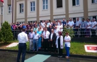 Trabzon'da sağlık çalışanı darp edildi! Meslektaşları...