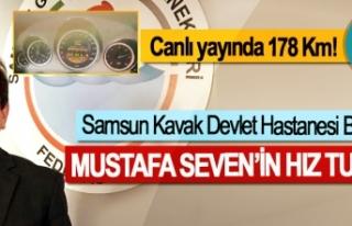 Samsun Kavak Devlet Hastanesi Başhekimi Mustafa Seven'in...