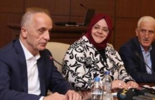 Türk-İş Başkanı  kendini böyle savundu