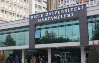 Dicle Üniversitesi Hastanesi bekleme salonunu kiraya...
