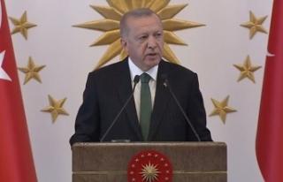 Erdoğan: Göreve geldiğimizde hiç kimseyi ekmeğinden...