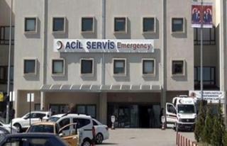 Hasta getiren ambulansı kaçırdı