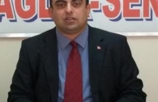 """Kamu Sağlık-Sen Genel Başkanı Ümit Karataş ;""""Bakanlığı..."""