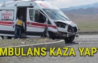 Diyarbakır'da Ambulans Kazası